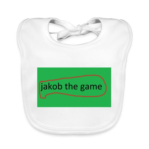 jakob the game - Baby økologisk hagesmæk