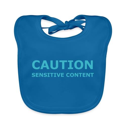 Caution women's t-shirt - Baby Organic Bib