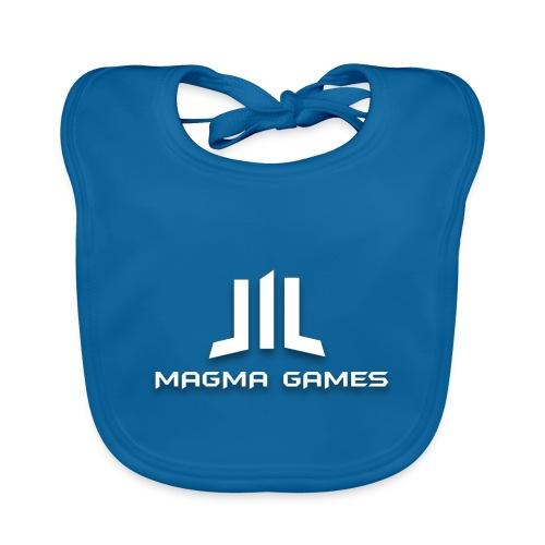 Magma Games t-shirt grijs - Bio-slabbetje voor baby's