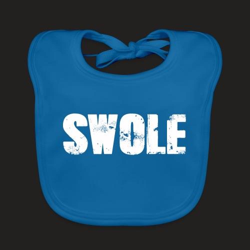 SWOLE FLAT CAP - Baby Organic Bib