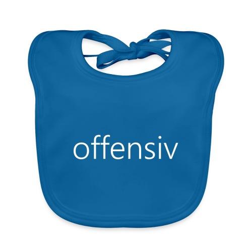 offensiv t-shirt (børn) - Baby økologisk hagesmæk