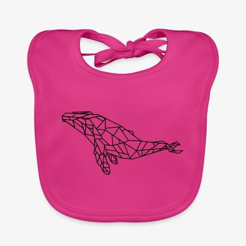 whale - Bavaglino ecologico per neonato