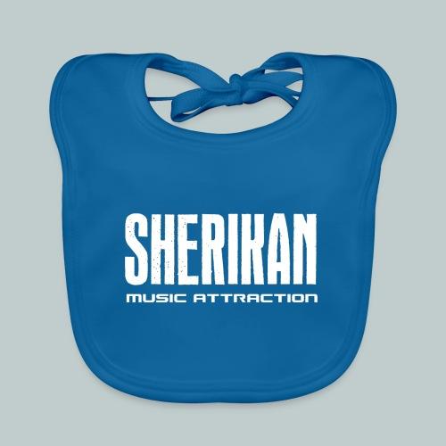 Sherikan logo - Ekologisk babyhaklapp