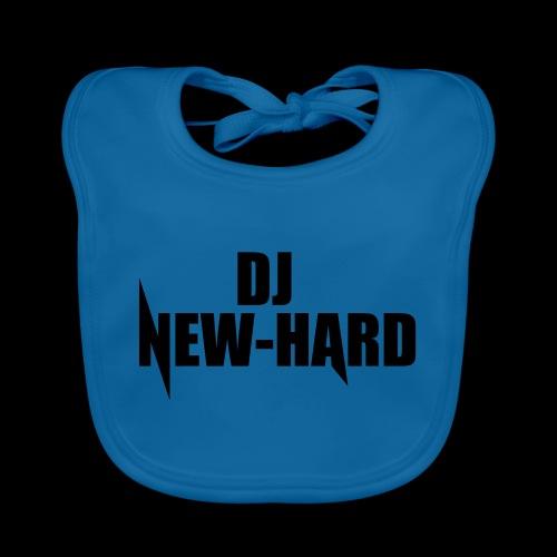 DJ NEW-HARD LOGO - Bio-slabbetje voor baby's