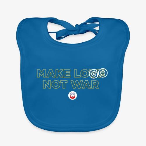 Make LOGO not WAR - Bavaglino ecologico per neonato