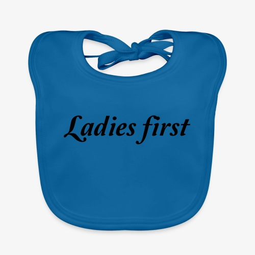 Ladies First - Bavoir bio Bébé