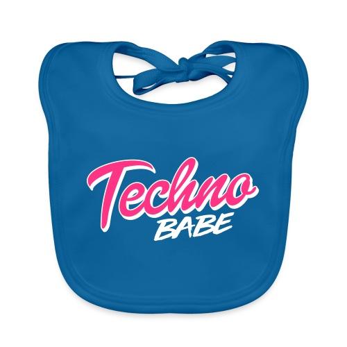 Techno babe - Baby Organic Bib