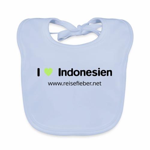 I love Indonesien - Baby Bio-Lätzchen