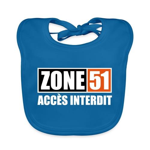 ZONE 51 - ACCES INTERDIT - Bavoir bio Bébé