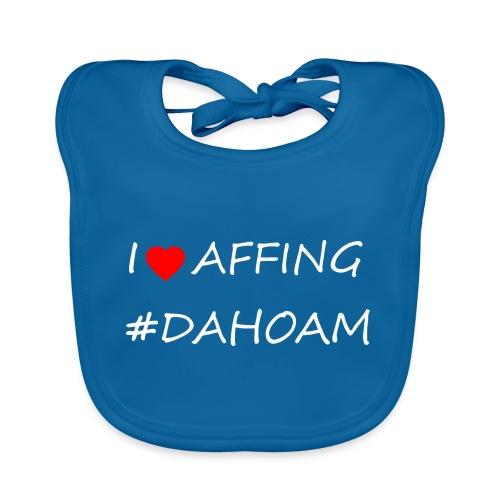 I ❤️ AFFING #DAHOAM - Baby Bio-Lätzchen