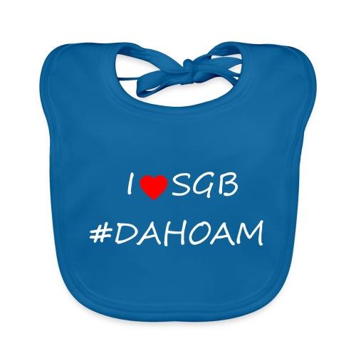 I ❤️ SGB #DAHOAM - Baby Bio-Lätzchen