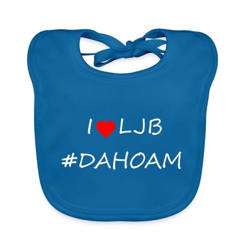 I ❤️ LJB #DAHOAM - Baby Bio-Lätzchen