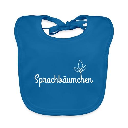 Sprachbäumchen - Baby Bio-Lätzchen