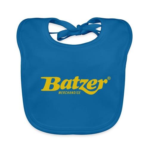 Batzer Logo GEEL - Bio-slabbetje voor baby's