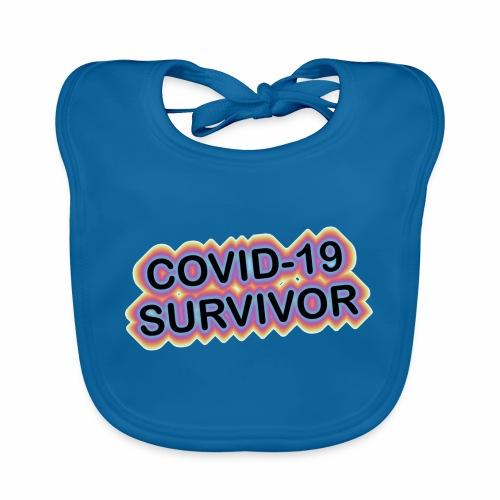 covic19survivor - Hagesmække af økologisk bomuld