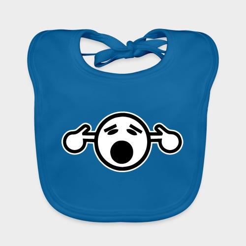 NO TE OIGO - Babero de algodón orgánico para bebés