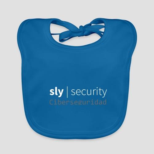 Sly Security   Ciberseguridad - Babero de algodón orgánico para bebés