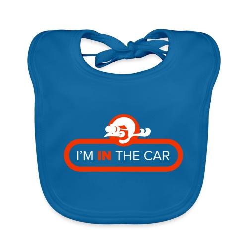 I'm in the car - Baby Organic Bib