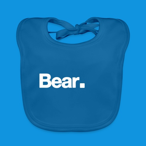 Bear. Retro Bag - Baby Organic Bib