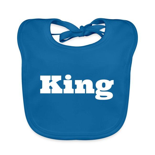 Snapback king zwart/blauw