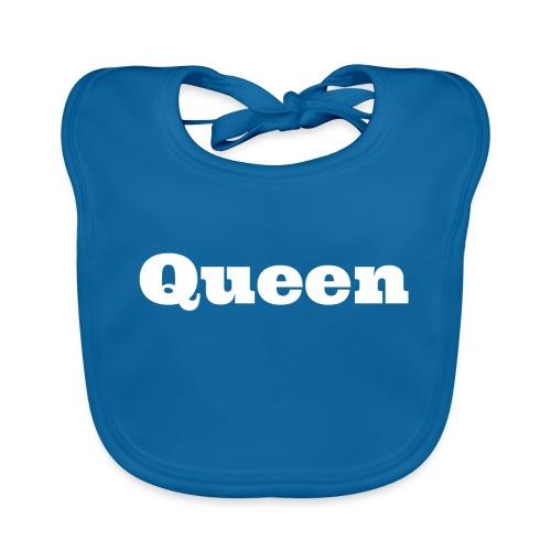 Snapback queen zwart/blauw - Bio-slabbetje voor baby's