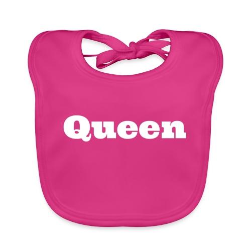 Snapback queen blauw/rood - Bio-slabbetje voor baby's