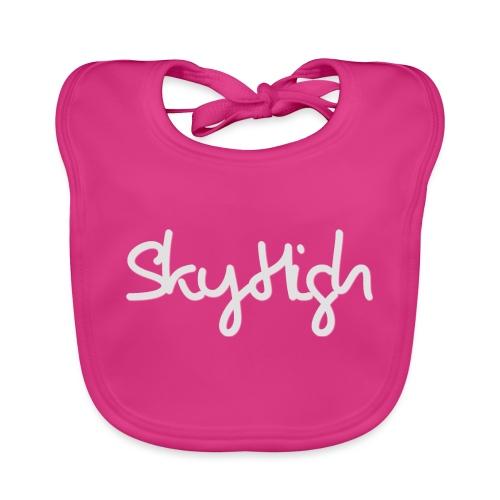 SkyHigh - Women's Premium T-Shirt - Gray Lettering - Baby Organic Bib