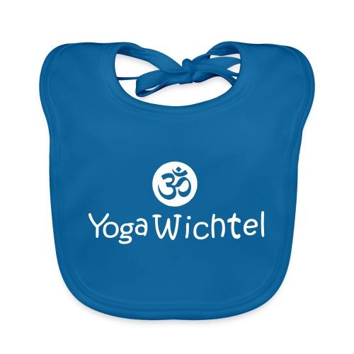Yoga Wichtel2 - Baby Bio-Lätzchen