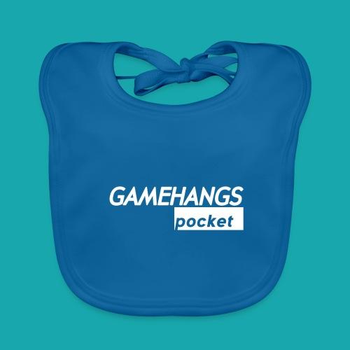 GameHangs Pocket Snapback - Baby Organic Bib