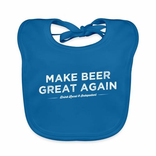 Make Beer Great Again - Organic Baby Bibs