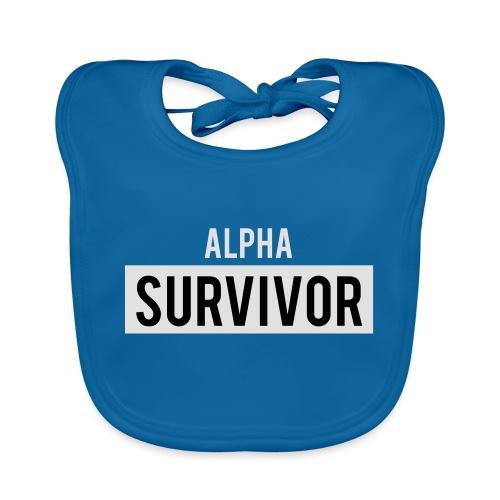 Alpha Survivor - Organic Baby Bibs