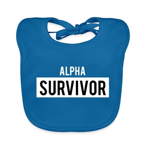 Alpha Survivor - Baby Organic Bib