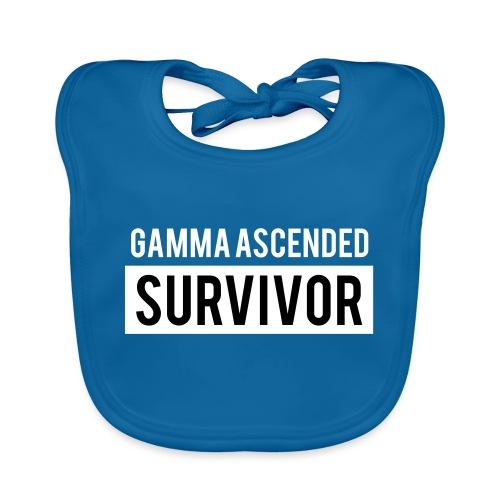 Gamma Ascended Survivor - Baby Organic Bib