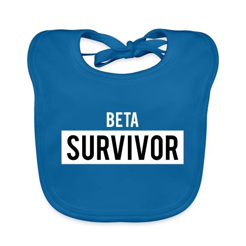 Beta Survivor - Baby Organic Bib