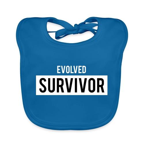 Evolved Survivor - Baby Organic Bib
