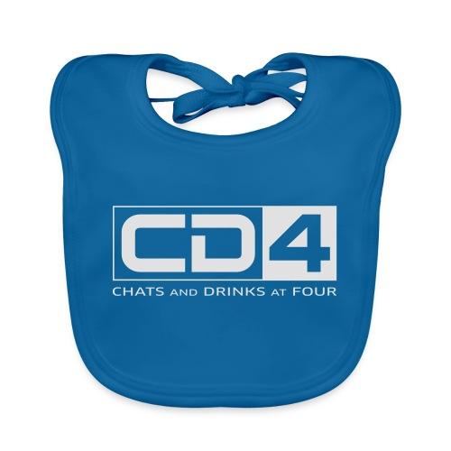 cd4 logo dikker kader bold font - Bio-slabbetje voor baby's