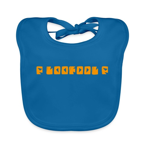 P loofool P - Orange logo - Økologisk babysmekke