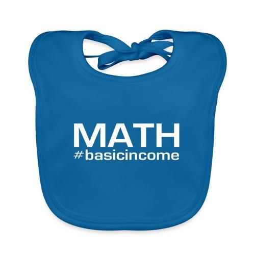 math white - Bio-slabbetje voor baby's