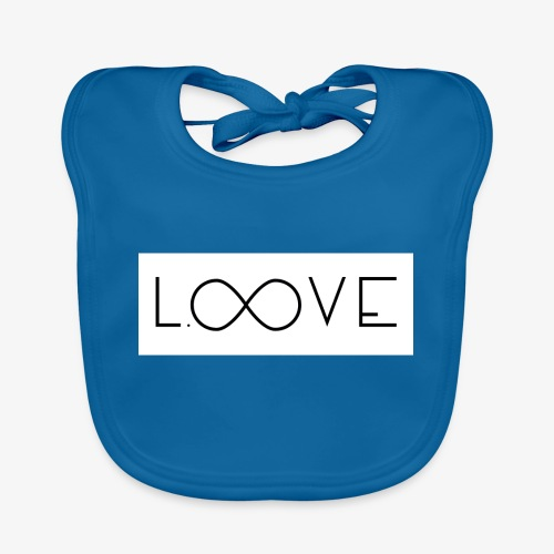 LOOVE Box Logo (SS18) - Bavaglino ecologico per neonato