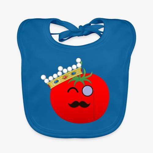 Tomatbaråonin - Ekologisk babyhaklapp