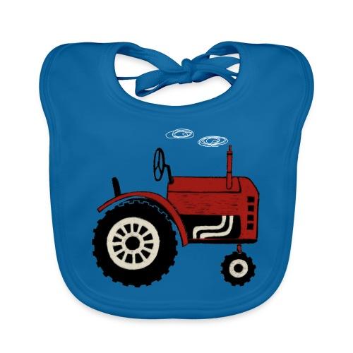 tractor - Bio-slabbetje voor baby's