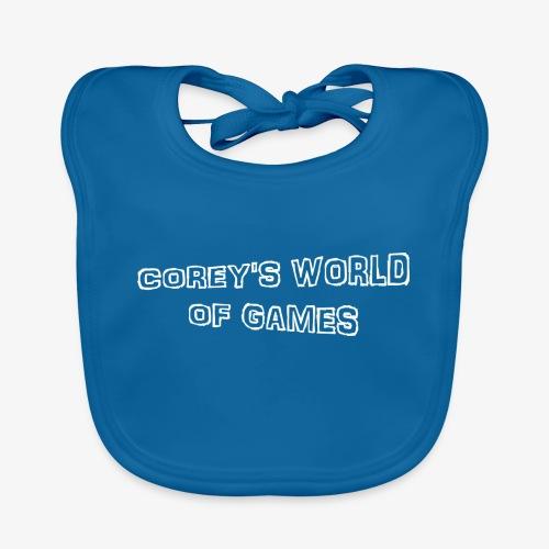 Coreys World Of Games - Organic Baby Bibs