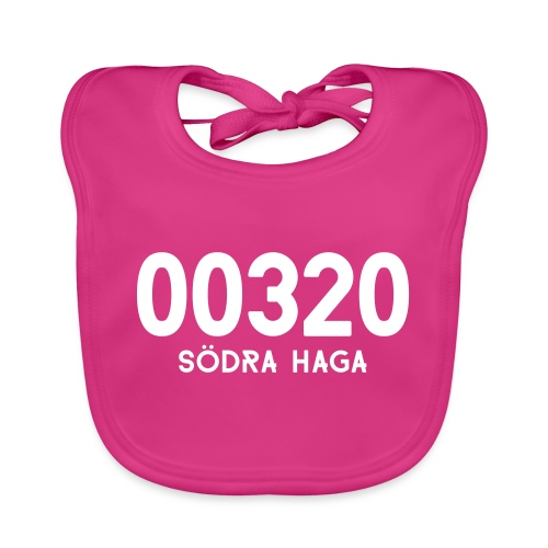 00320 SODRAHAGA - Vauvan luomuruokalappu