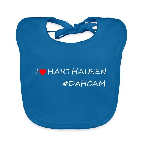 I ❤️ HARTHAUSEN #DAHOAM - Baby Bio-Lätzchen