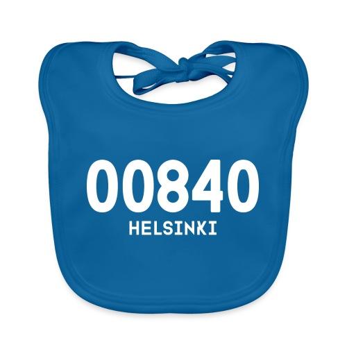 00840 HELSINKI - Vauvan luomuruokalappu