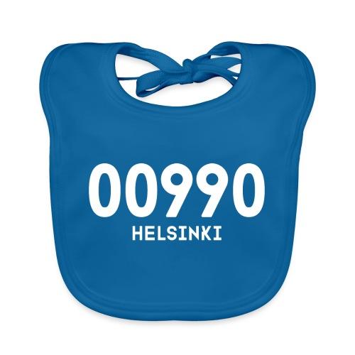 00990 HELSINKI - Vauvan luomuruokalappu