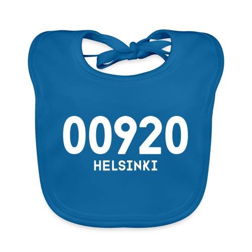 00920 HELSINKI - Vauvan luomuruokalappu