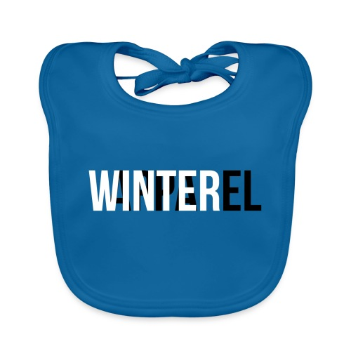 Winter Apparel Logo - Baby økologisk hagesmæk