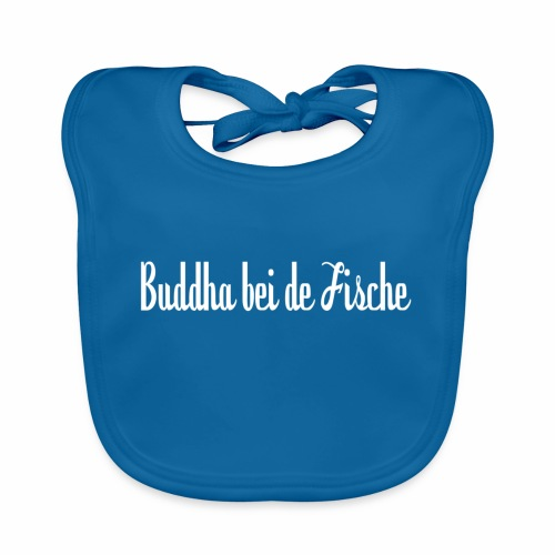 Buddha bei de Fische - Baby Bio-Lätzchen