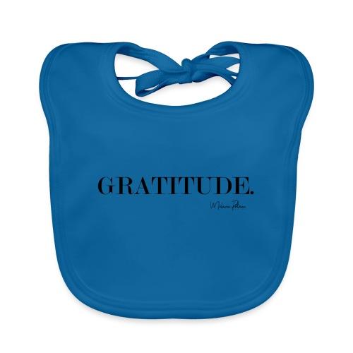 GRATITUDE - Bavoir bio Bébé